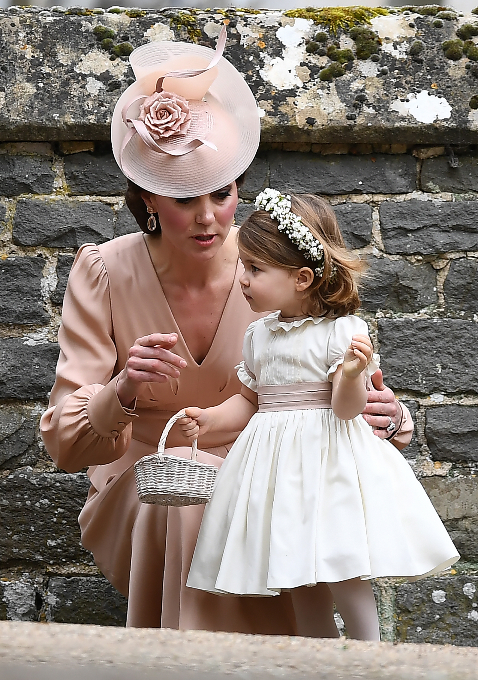 Kate Middleton with Princess Charlotte