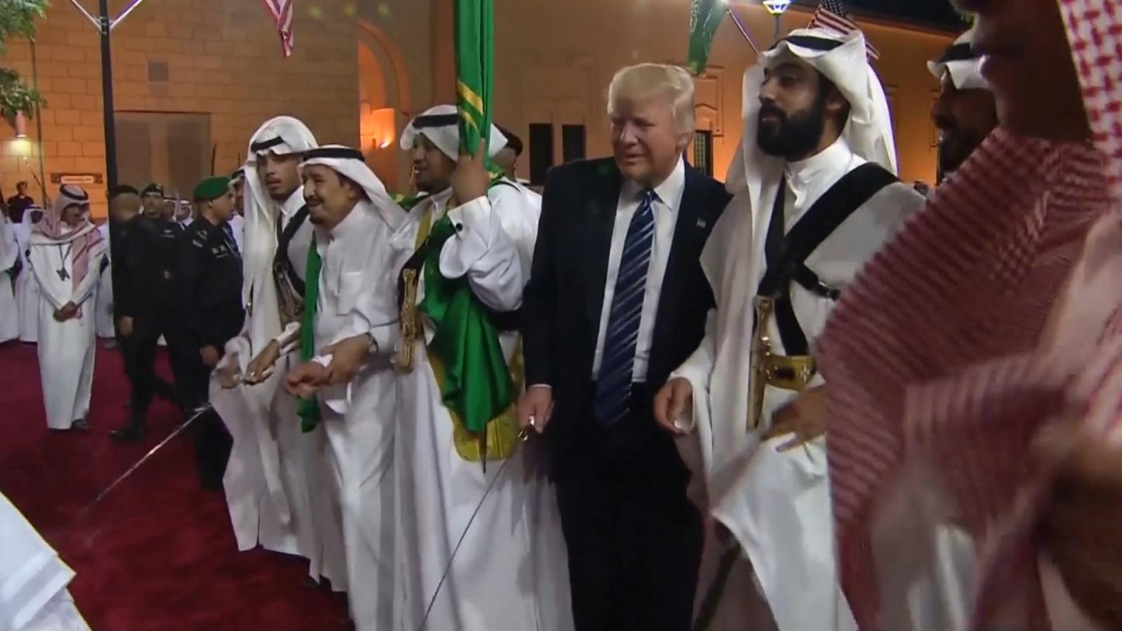 watch-donald-trump-participate-in-traditional-saudi-sword-dance