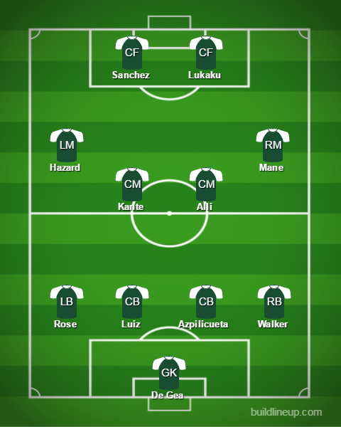 Eduardo's best XI.