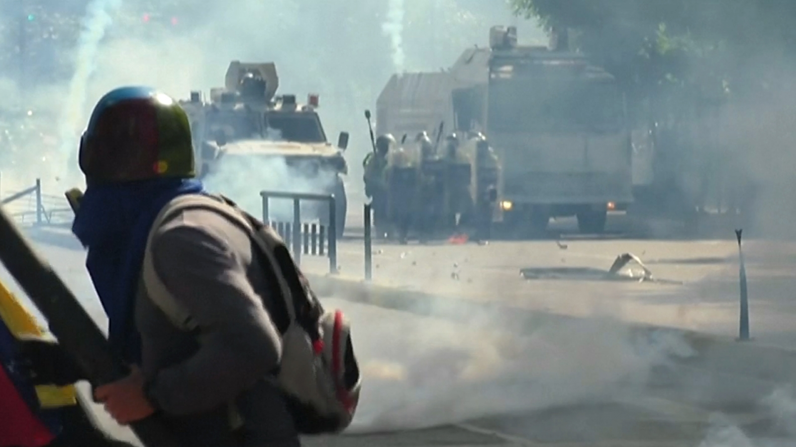 Violent Clashes In Venezuela As Anti-Government Protests Enter 50th Day