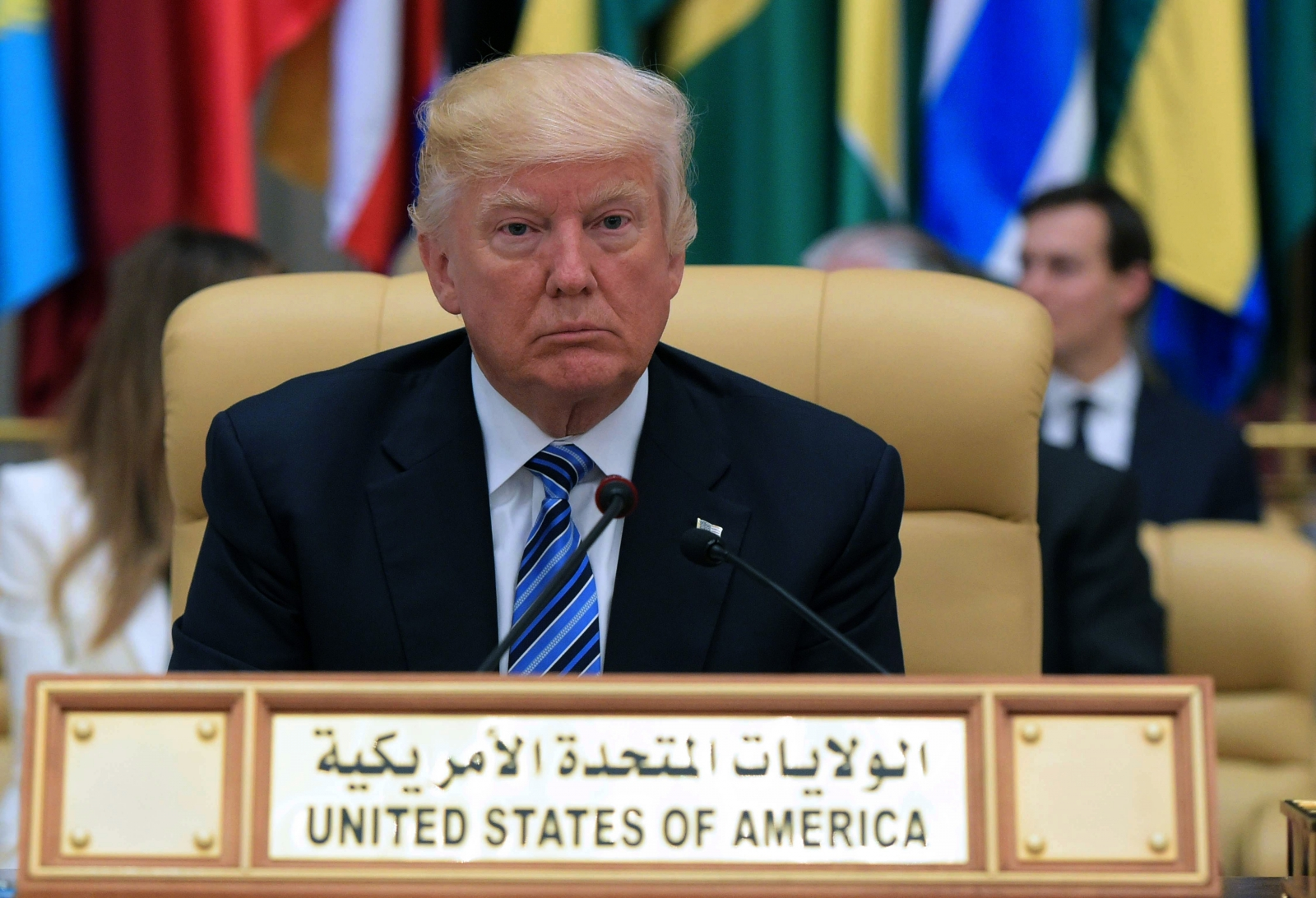 Trump saudi