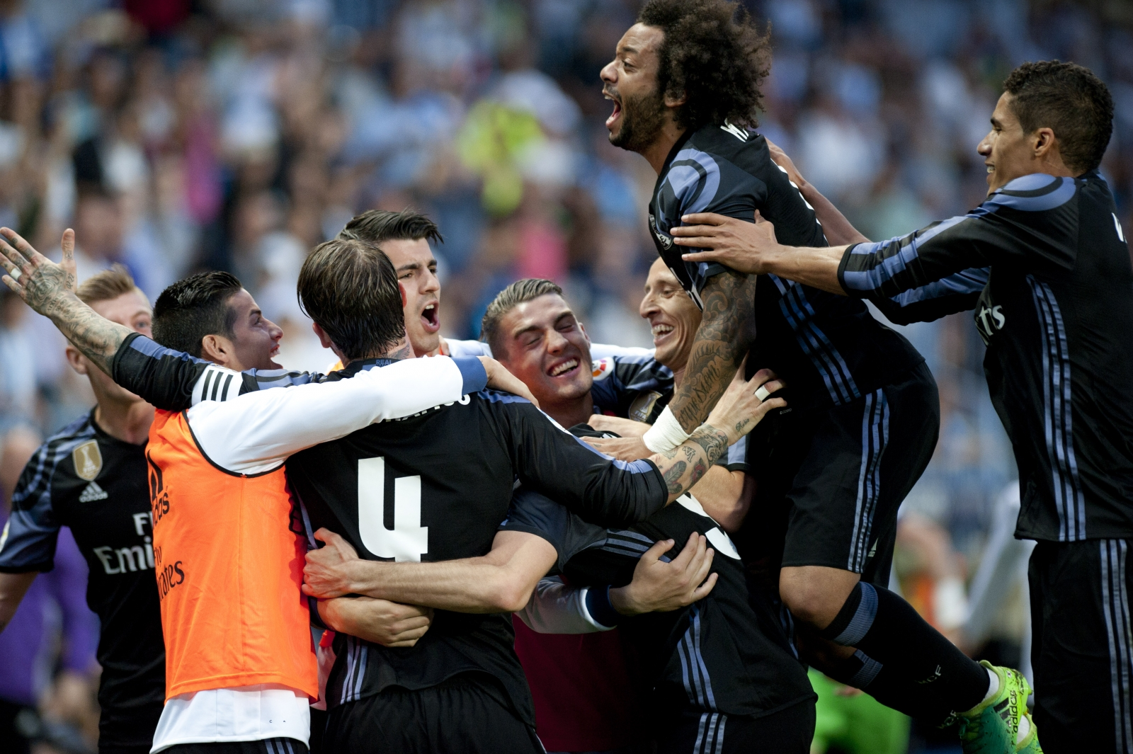 Real clinch 33rd La Liga title