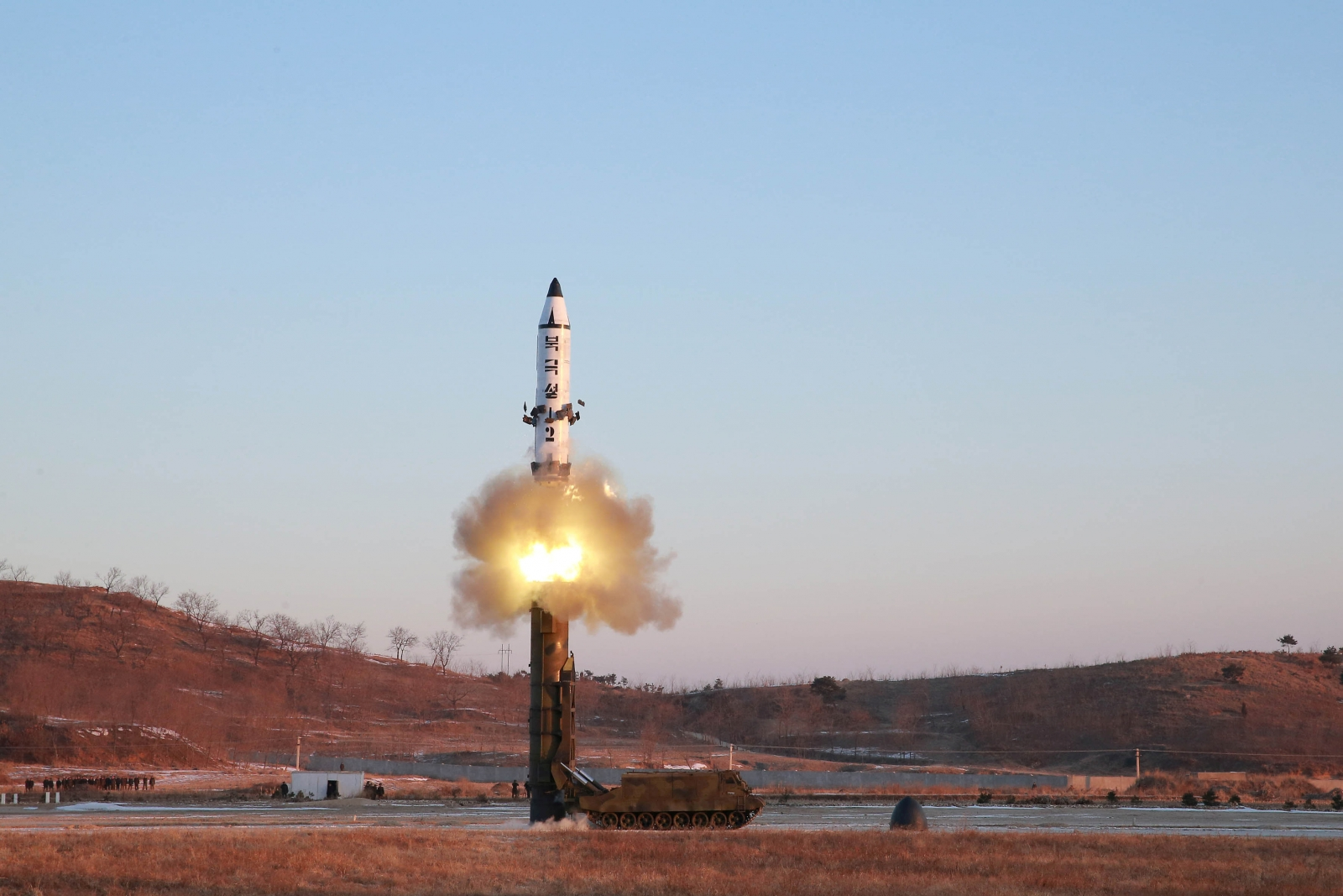 South Korean troops open fire projectile North Korea