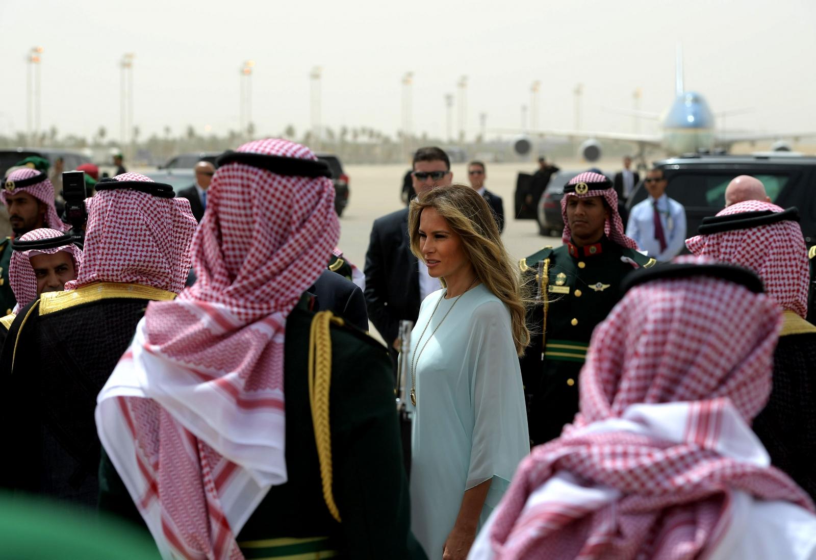 Melania Trump in Saudi Arabia