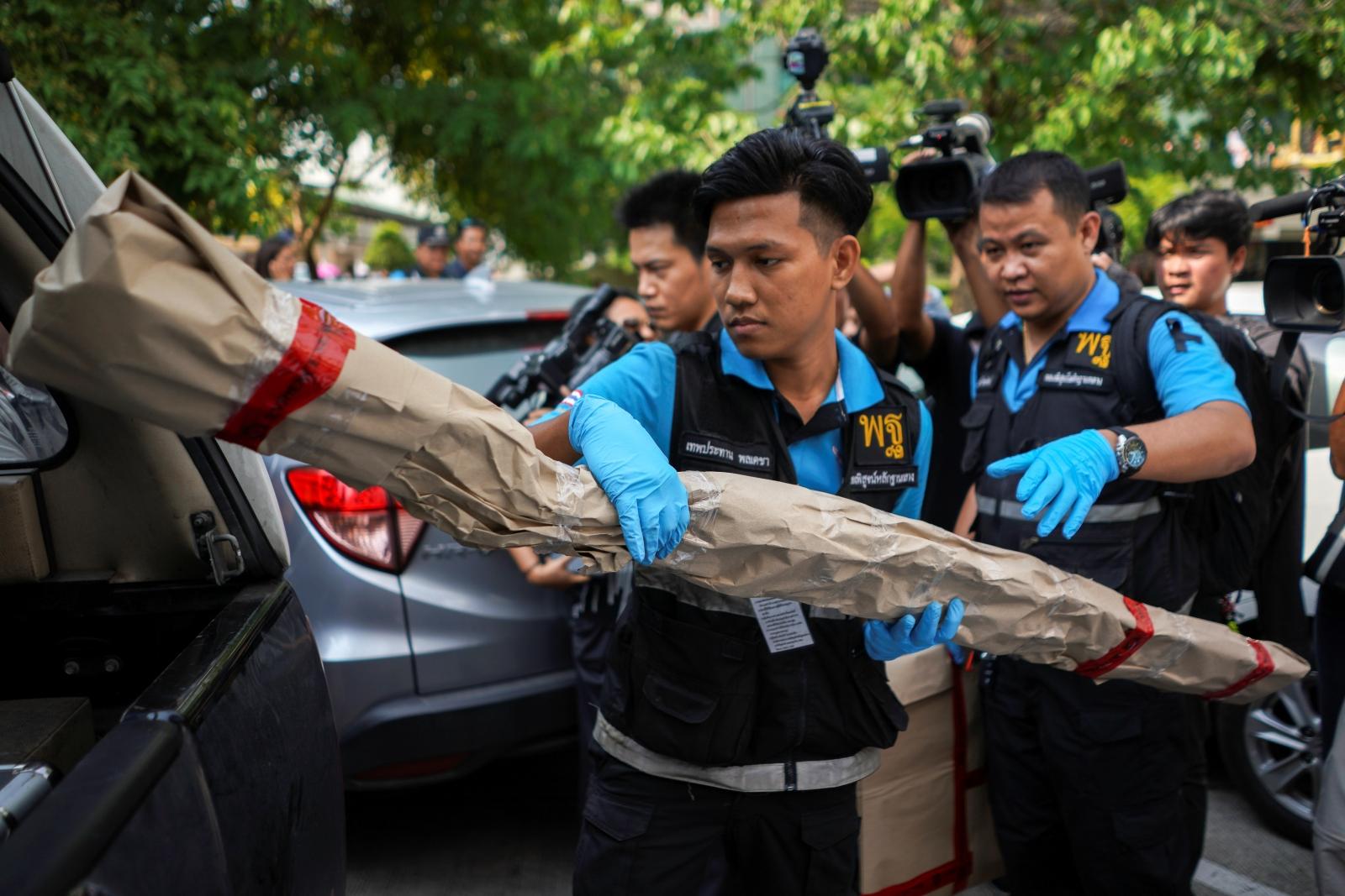 Bangkok bombing 22 May