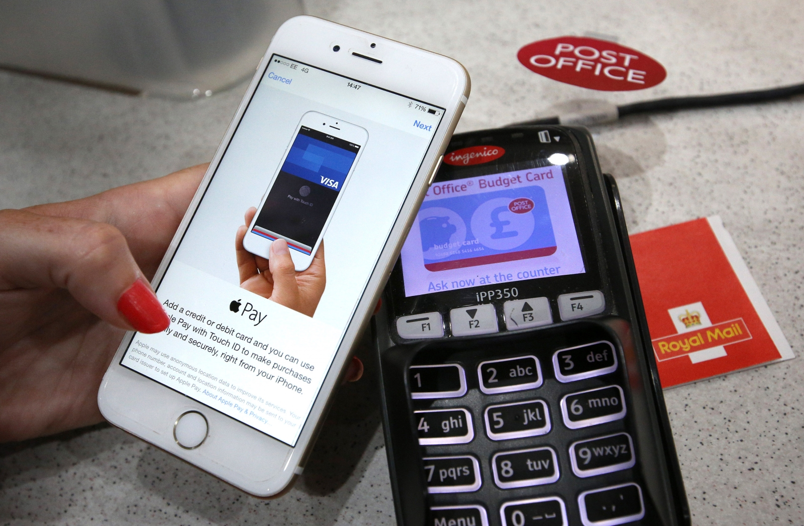 Apple and Visa targeted in infringement suit over Apple Pay tech