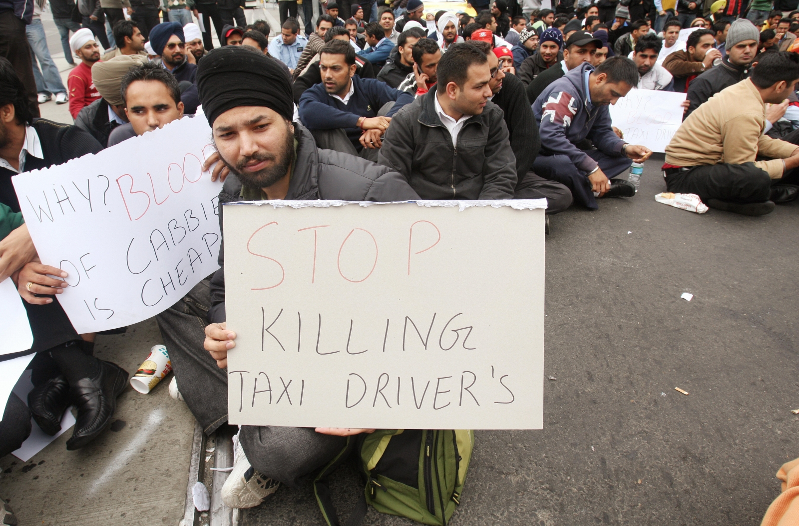 Australia taxi driver attacked