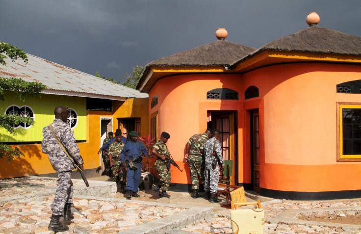 Burundi police search operations