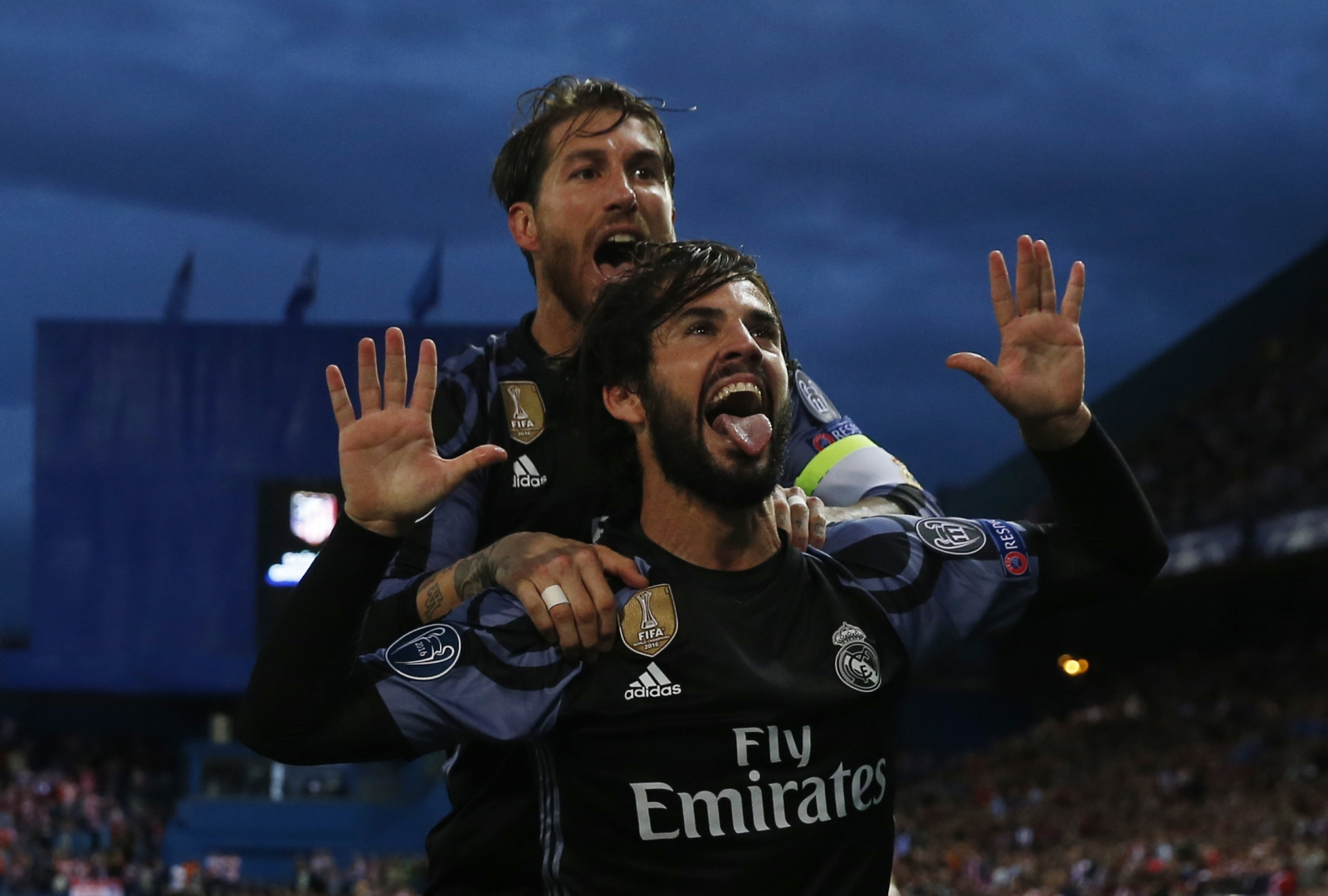Real Madrid wins its 1st Spanish title since 2012