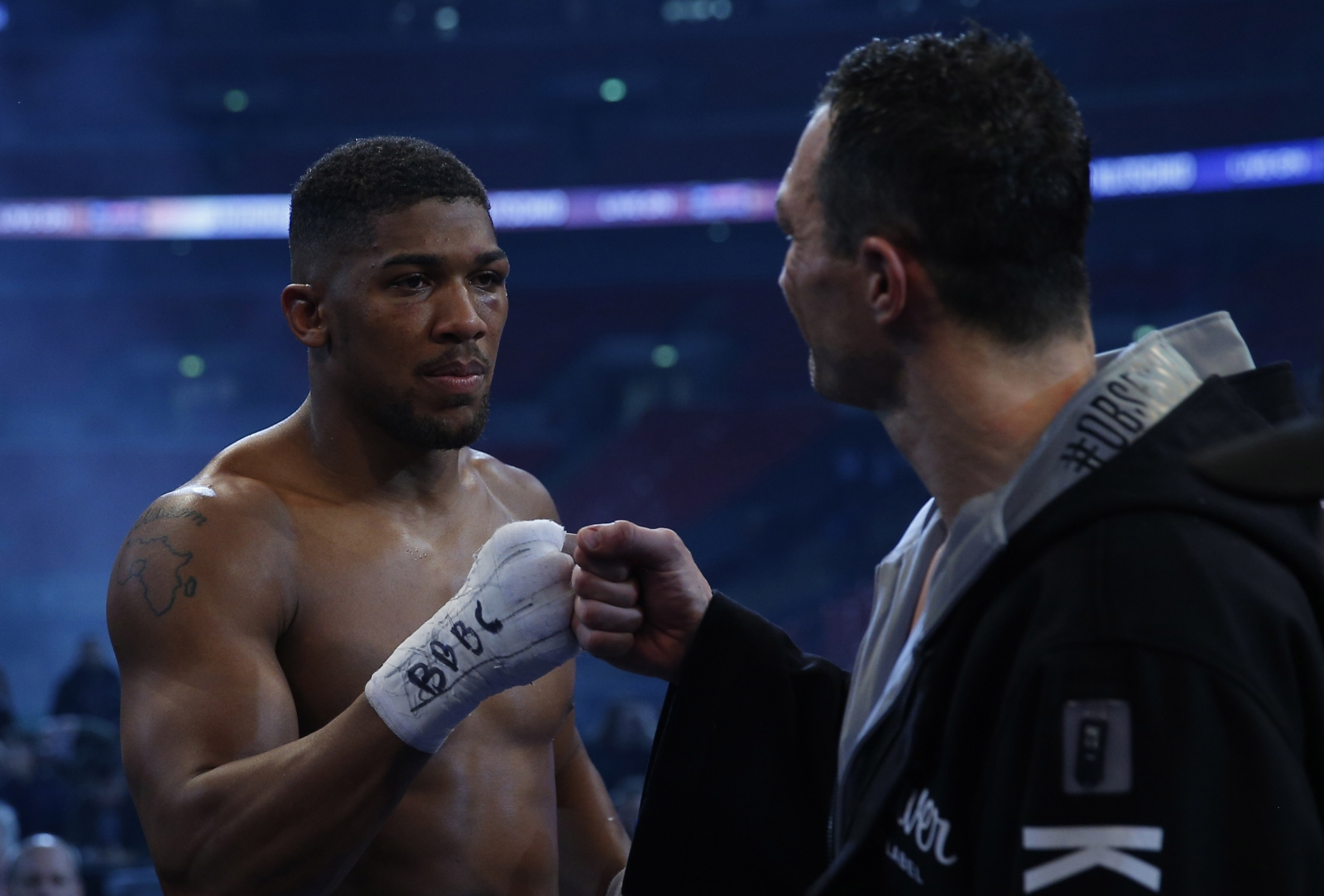 Anthony Joshua Keen To Get Involved In Potential Bout