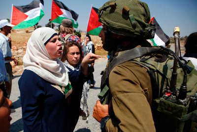 Palestinian prisons hunger strike Israel protests