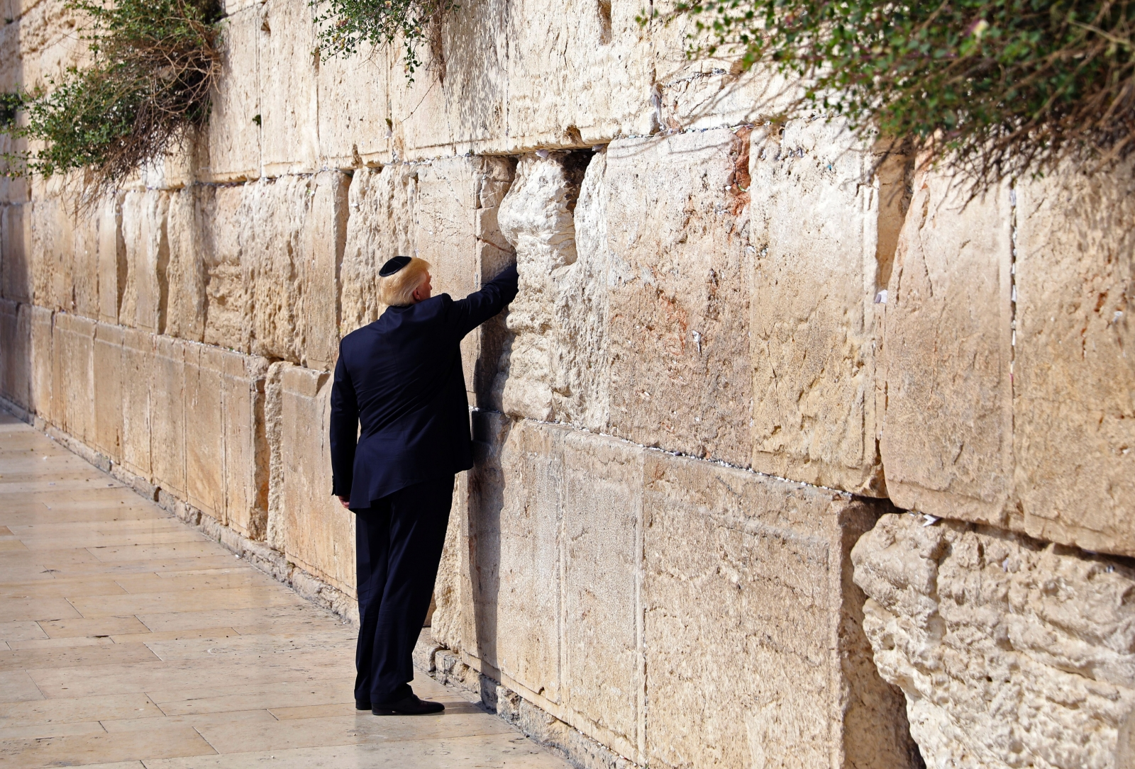 Donald Trump Western Wall