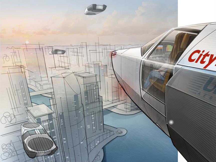 CityHawk flying car concept