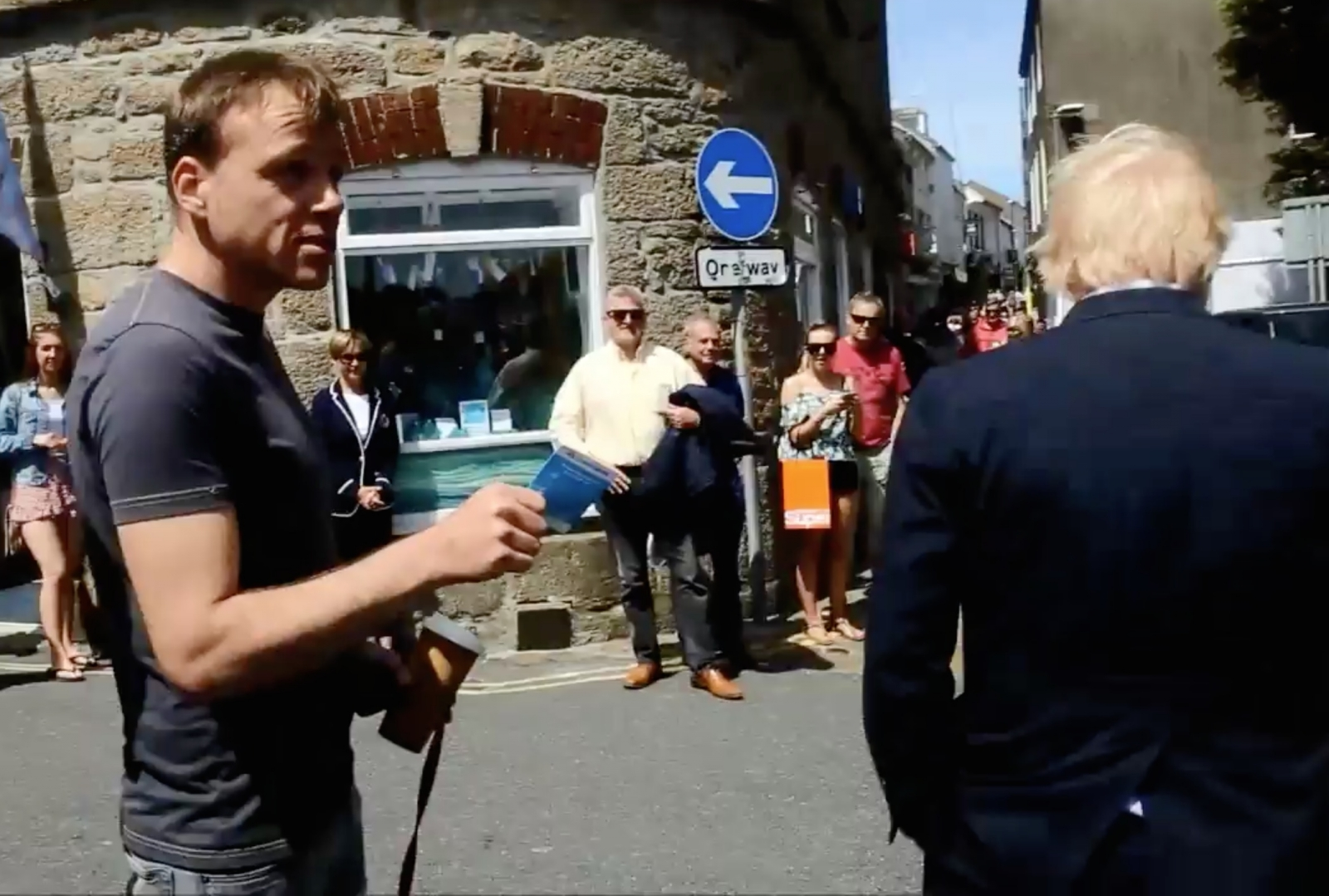 Boris Johnson Cornwall