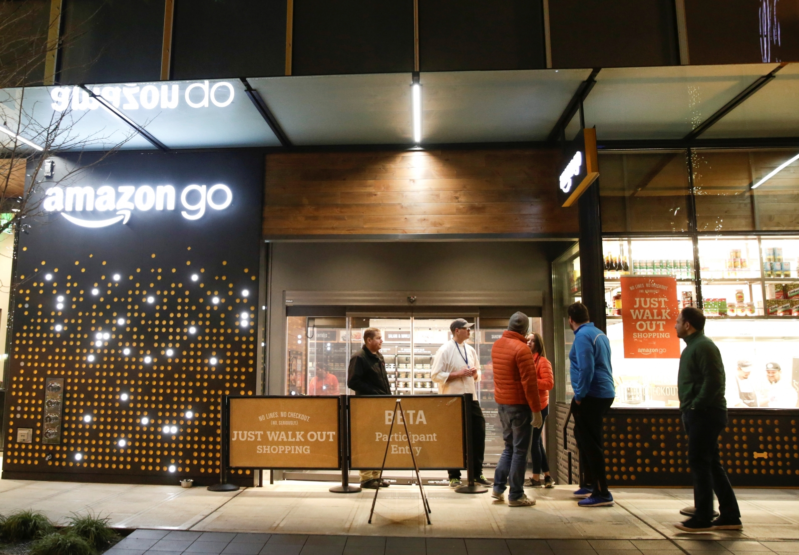 Amazon Go on its way to UK