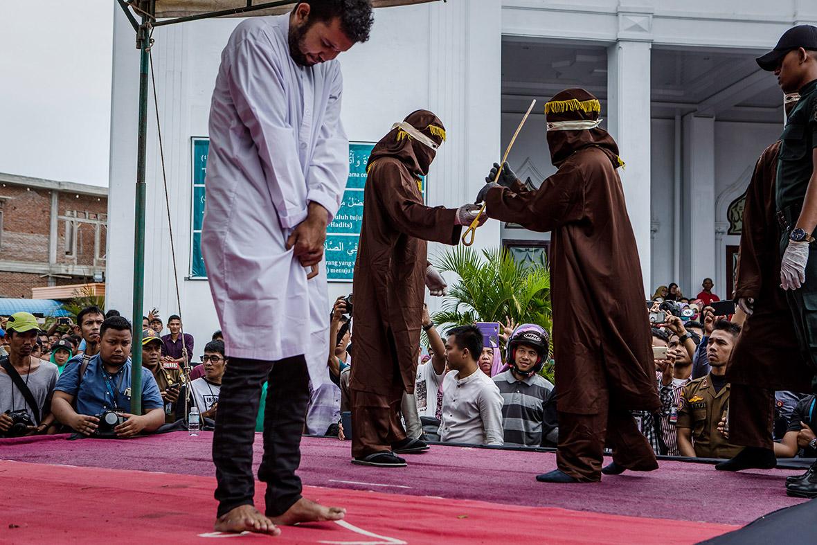 Mass Arrest of Indonesian Men at Sauna