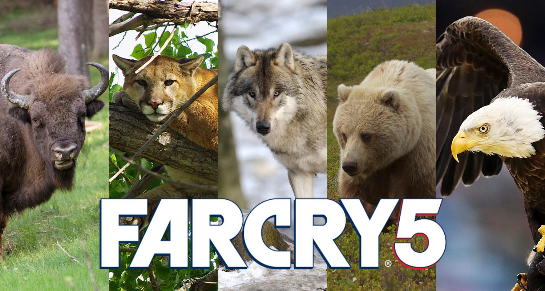 Far Cry 5 wildlife animals