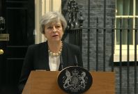 U.K. Prime Minister May Condemns 'Callous Terrorist Attack' In Manchester