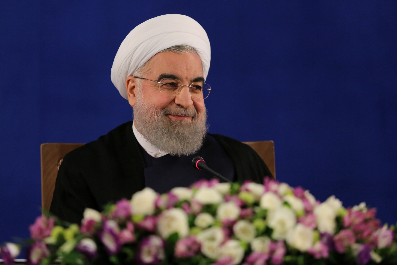 USA 'shamelessly threatening Russian Federation with atomic weapon', says Iran's Rouhani