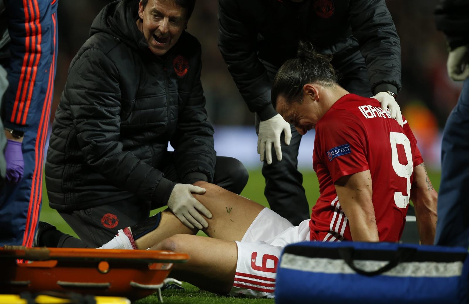 Ibrahimovic 'here to help' Man Utd in Europa League final