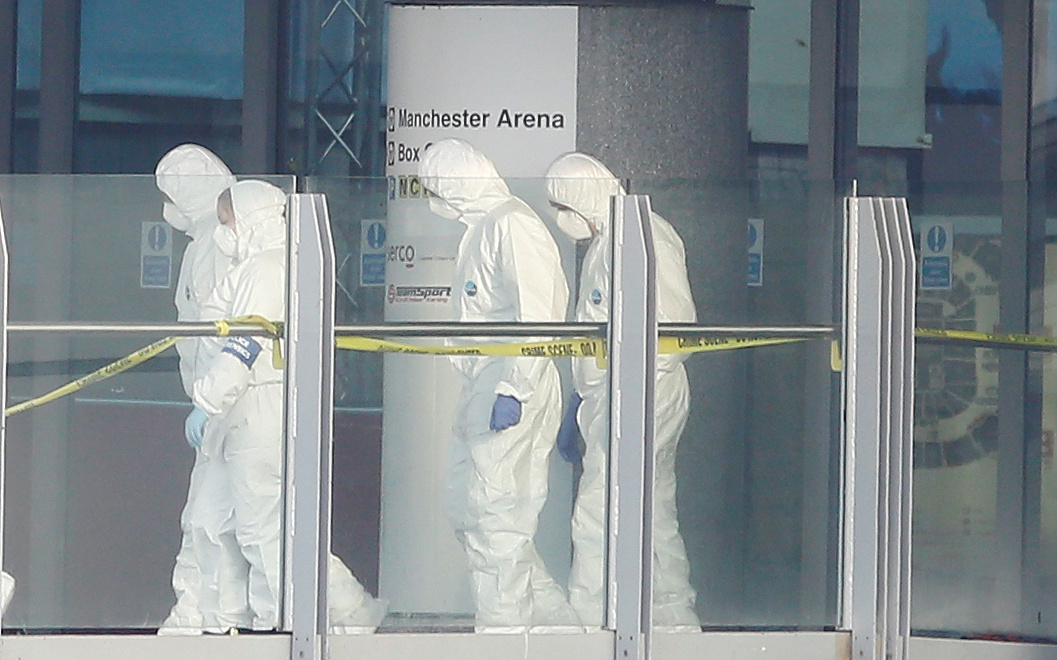 Manchester Arena forensics