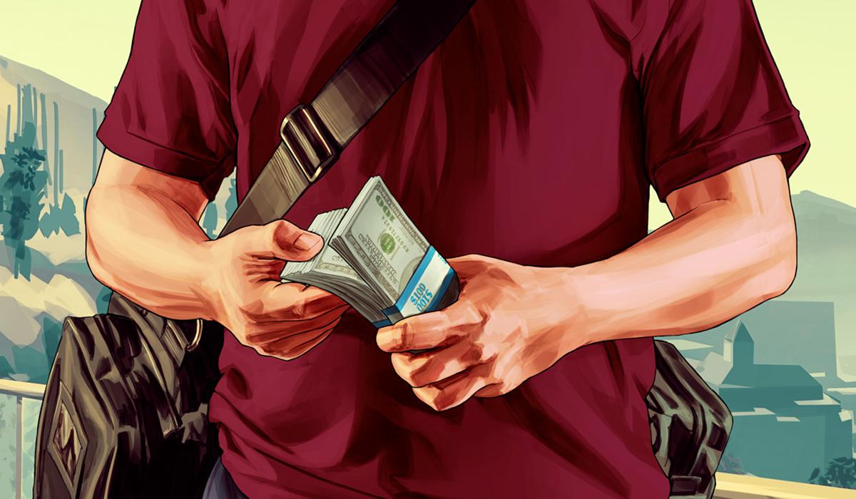 GTA 5 Michael Money