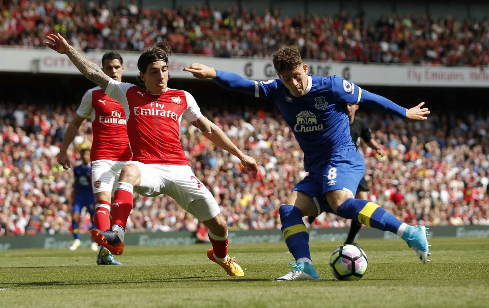 Hector Bellerin and Ross Barkley