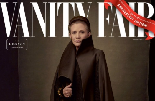 Carrie Fisher on Vanity Fair