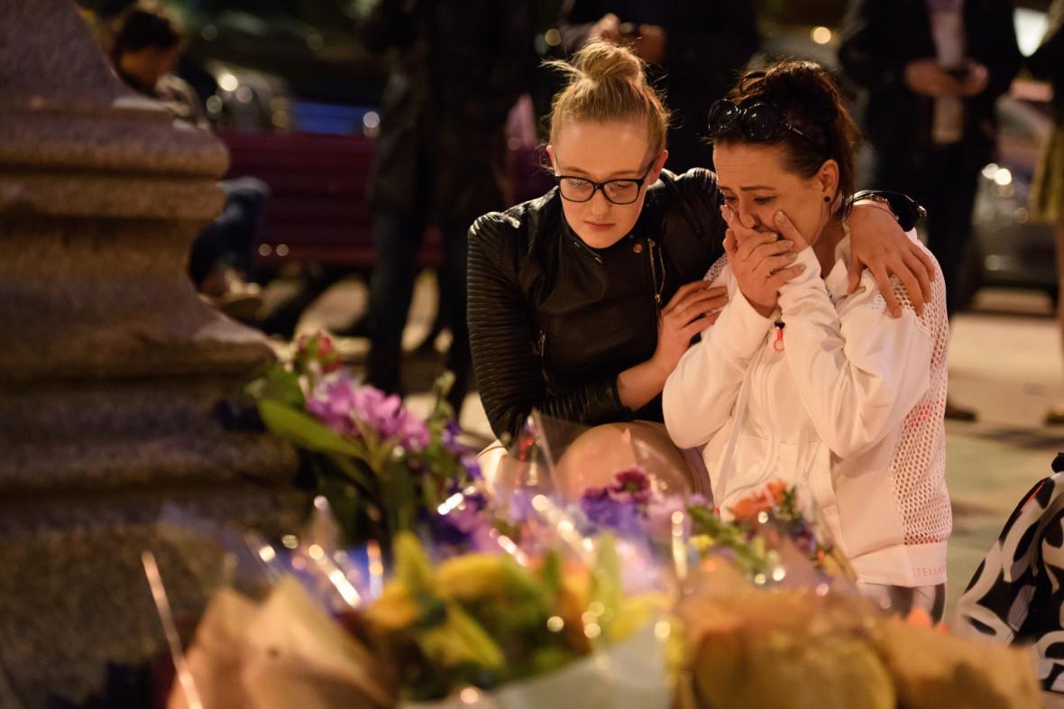 Manchester Arena explosion vigil