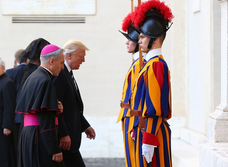 Trump's visit to the Vatican