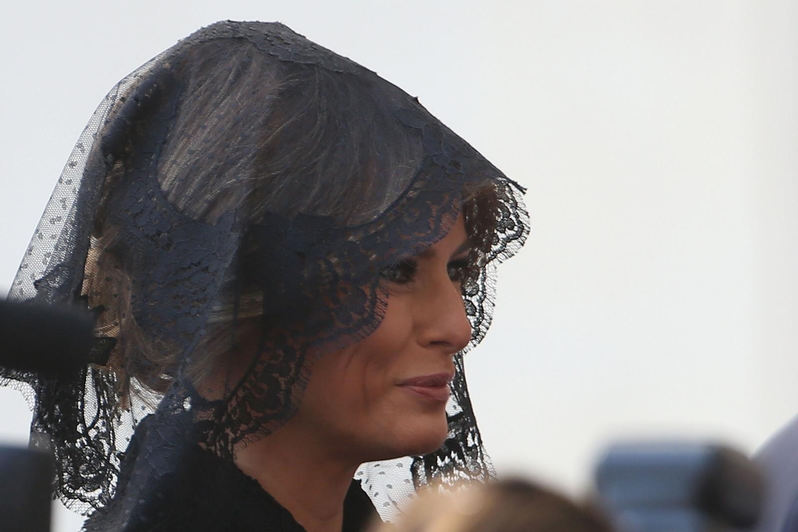 Melania Trump Pope