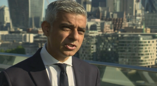 London Mayor Sadiq Khan talks military presence in London