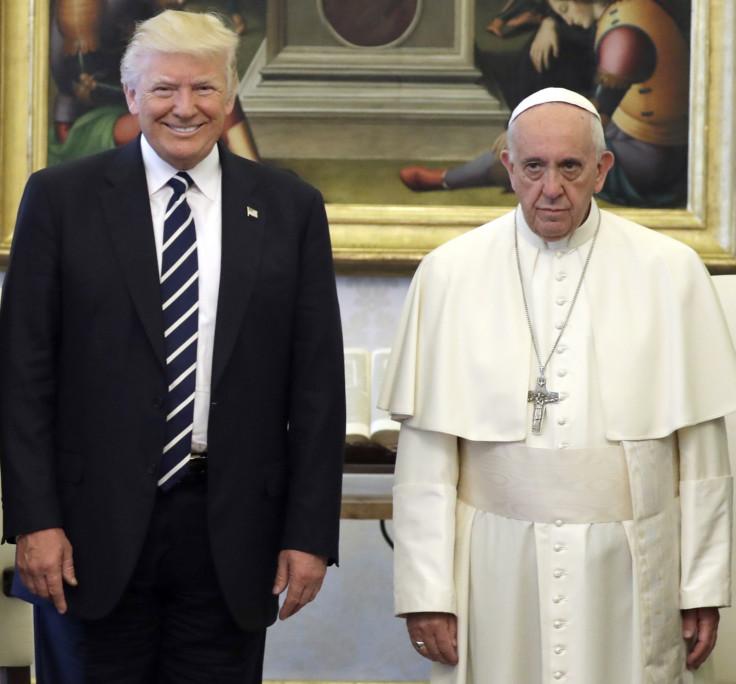 Donald Trump Pope Francis