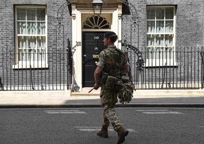 Soldiers streets Britain terror threat army
