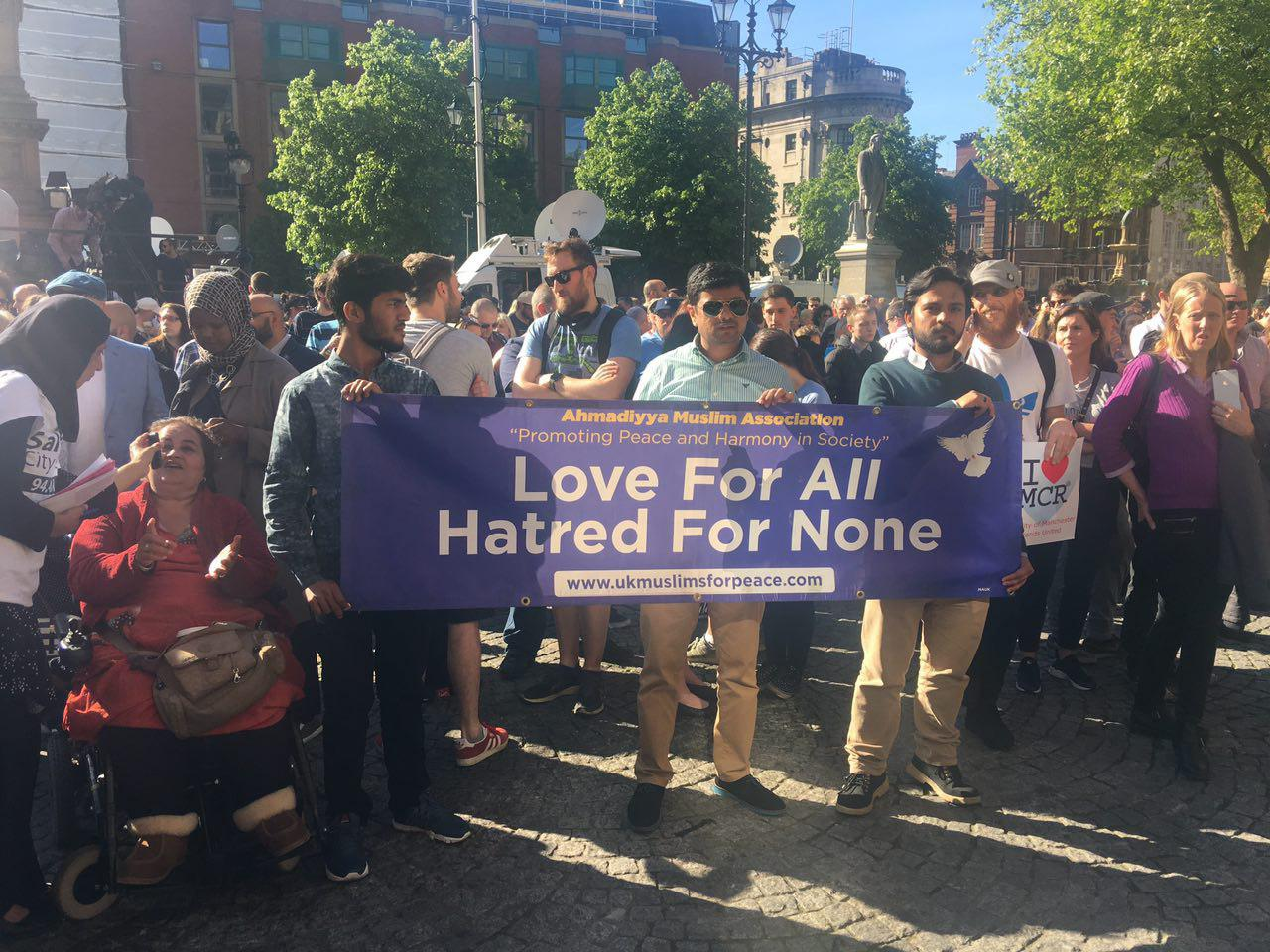Ahmadi Muslims in Manchester