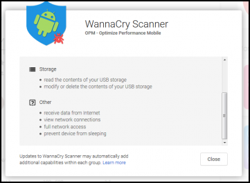 WannaCry Scanner