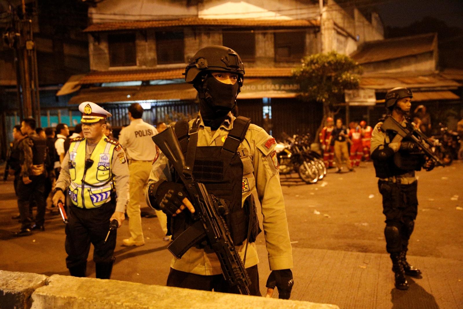 Jakarta Indonesia bus station blasts