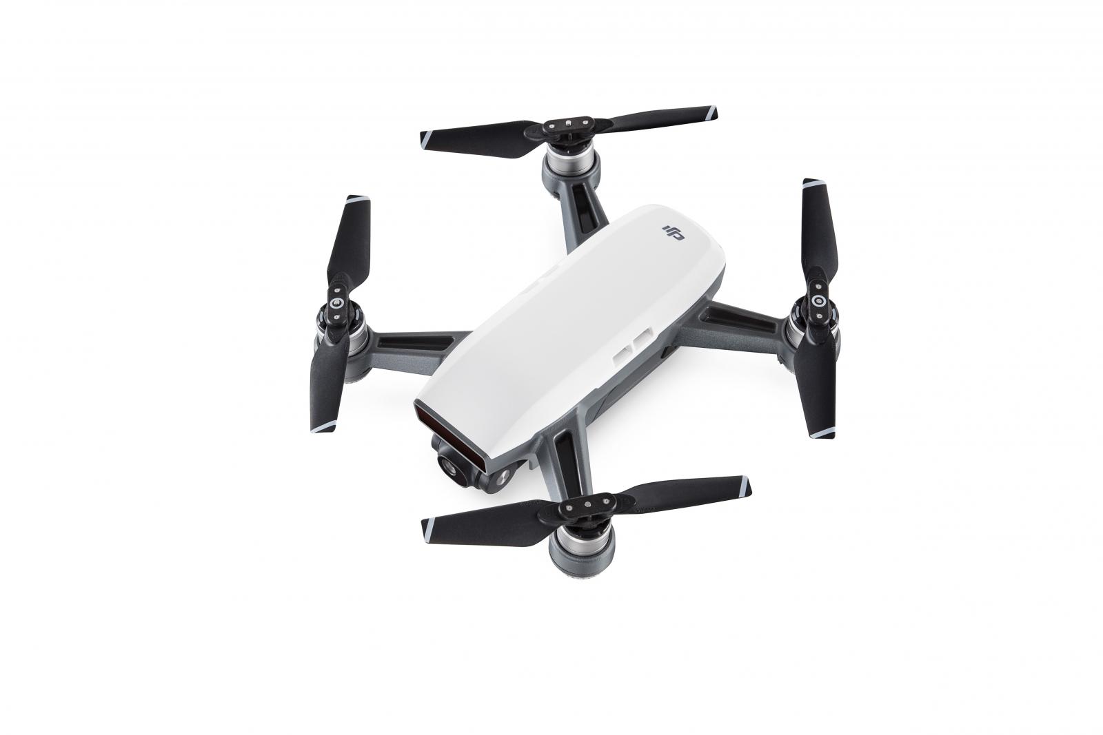 DJI Spark drone in white