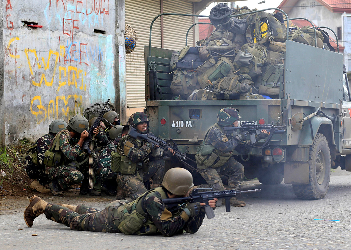 Philippine army fighting to retake southern city