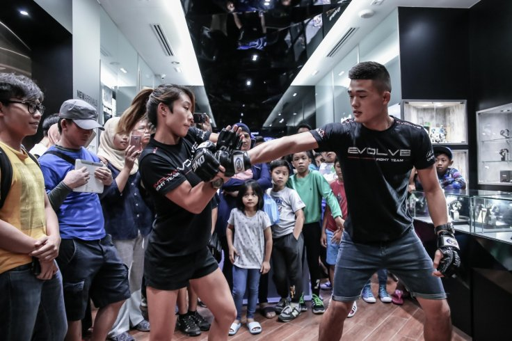 Angela Lee and Christian Lee