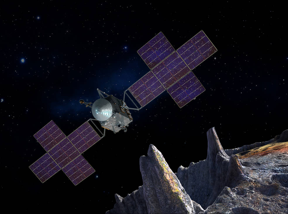 NASA Advances Metal Asteroid Exploration Mission Launch by 1 Year