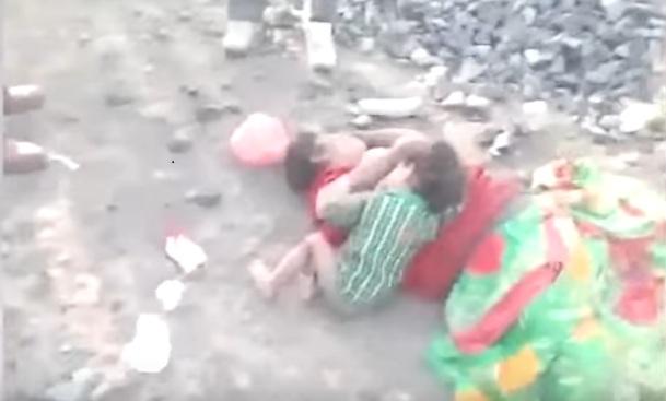 Wailing child India