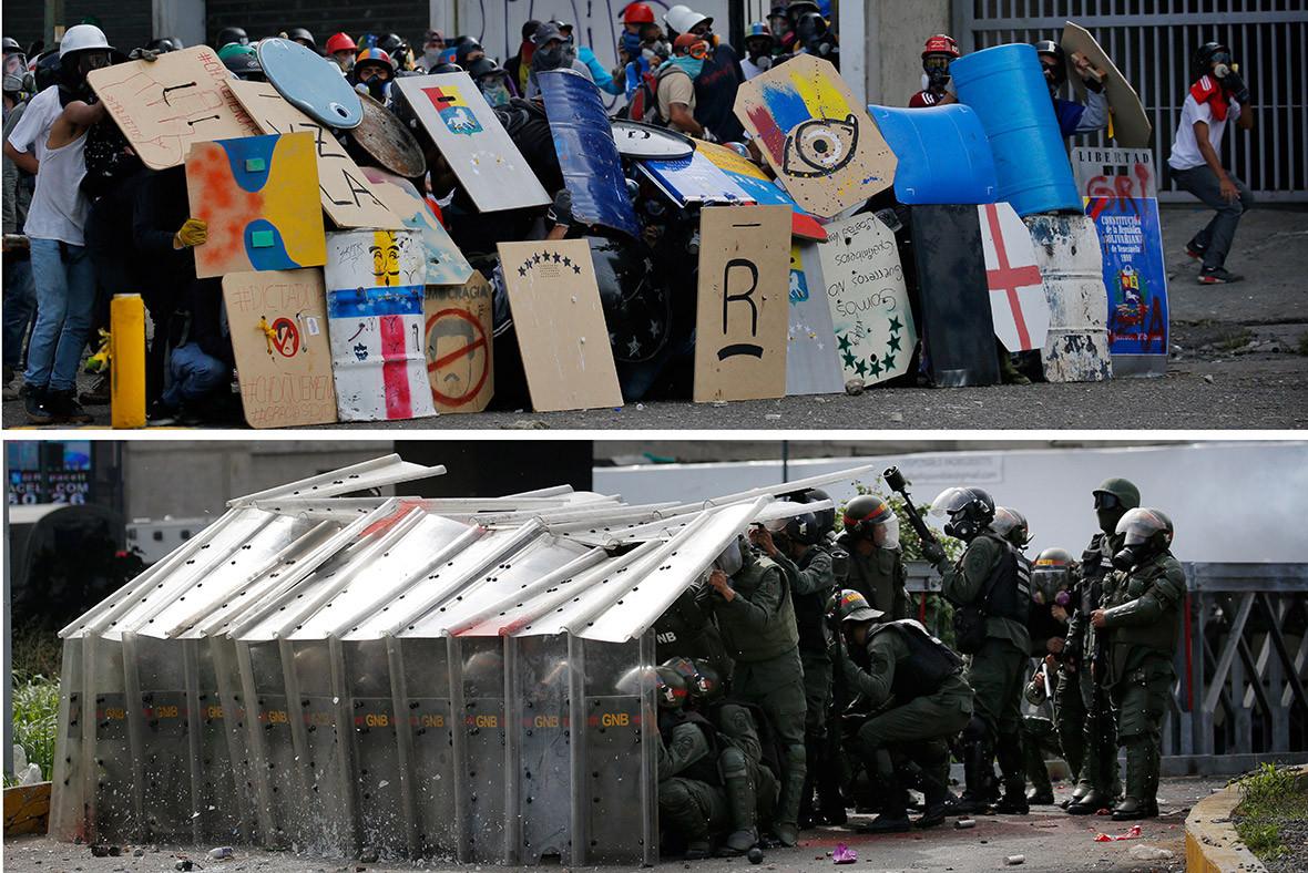 Venezuela Caracas protests Maduro