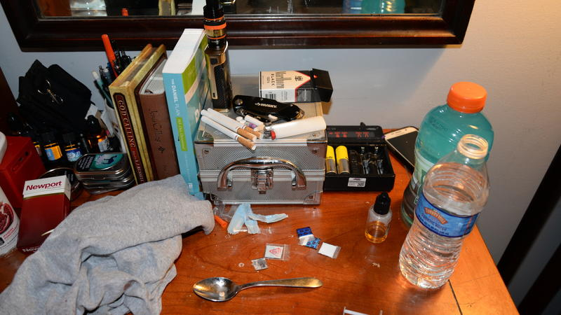 Opiod drug counsellor room