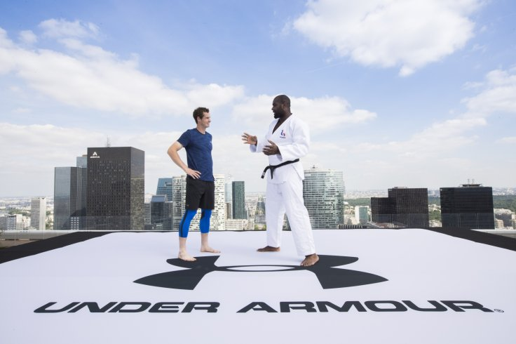 Andy Murray and Teddy Riner