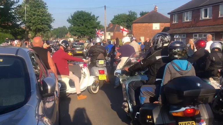 Memorial motorbike ride in Hull honours the memory of Manchester attack victim