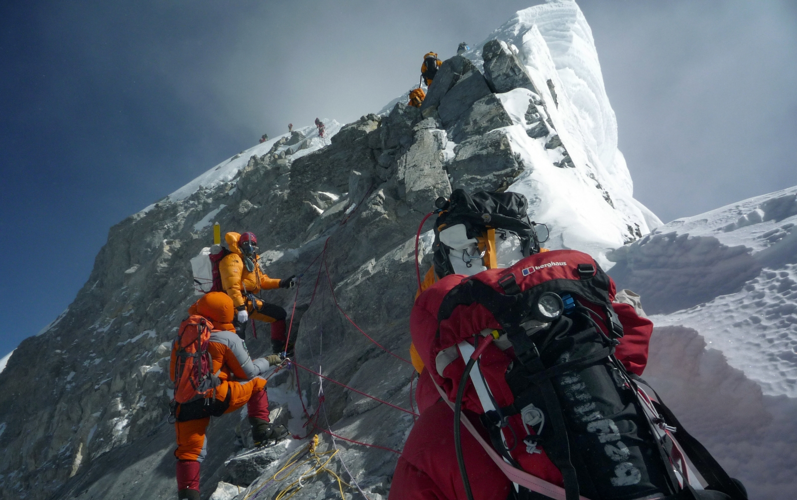 Four climbers found dead in tent on Everest