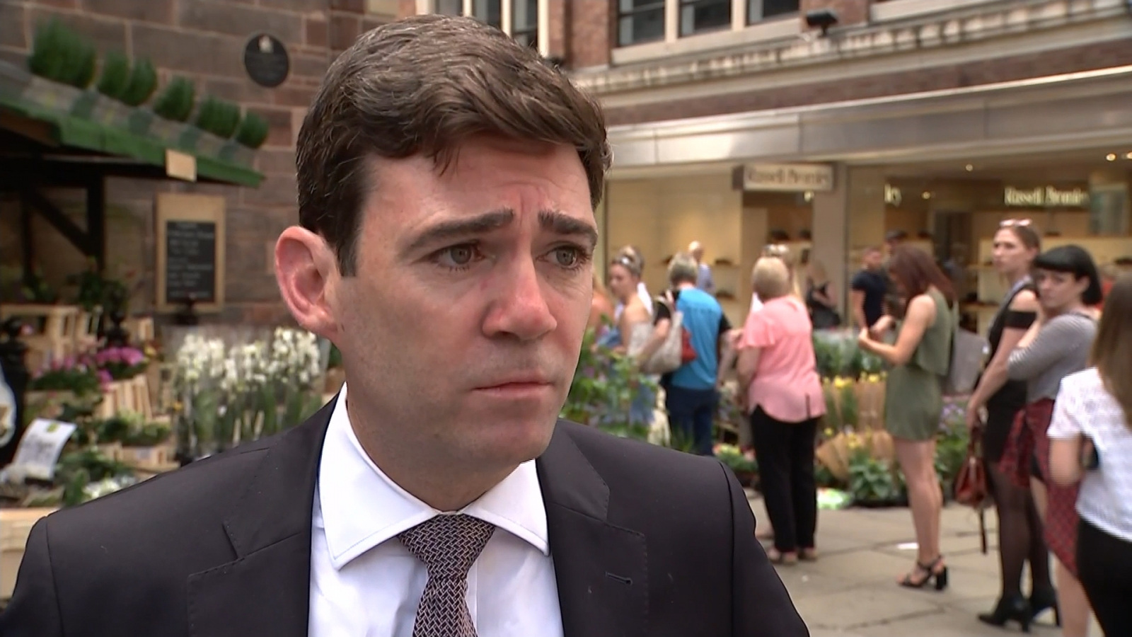 Mayor Andy Burnham praises 'inspirational' people of Manchester after attack