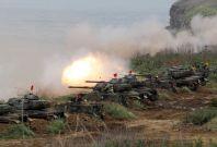 Taiwan military drills China
