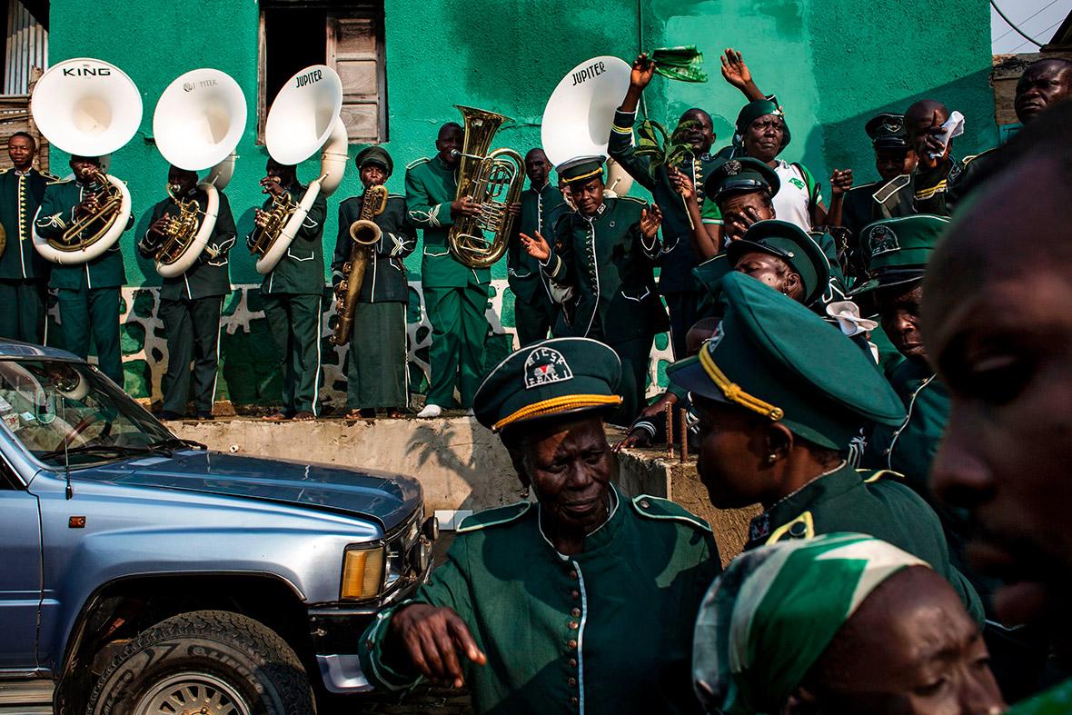 Kimbanguist church Congo Christmas Day